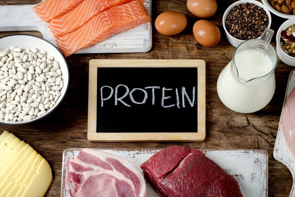 How to replace protein
